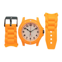 plastic kids watch wall clock for Children room