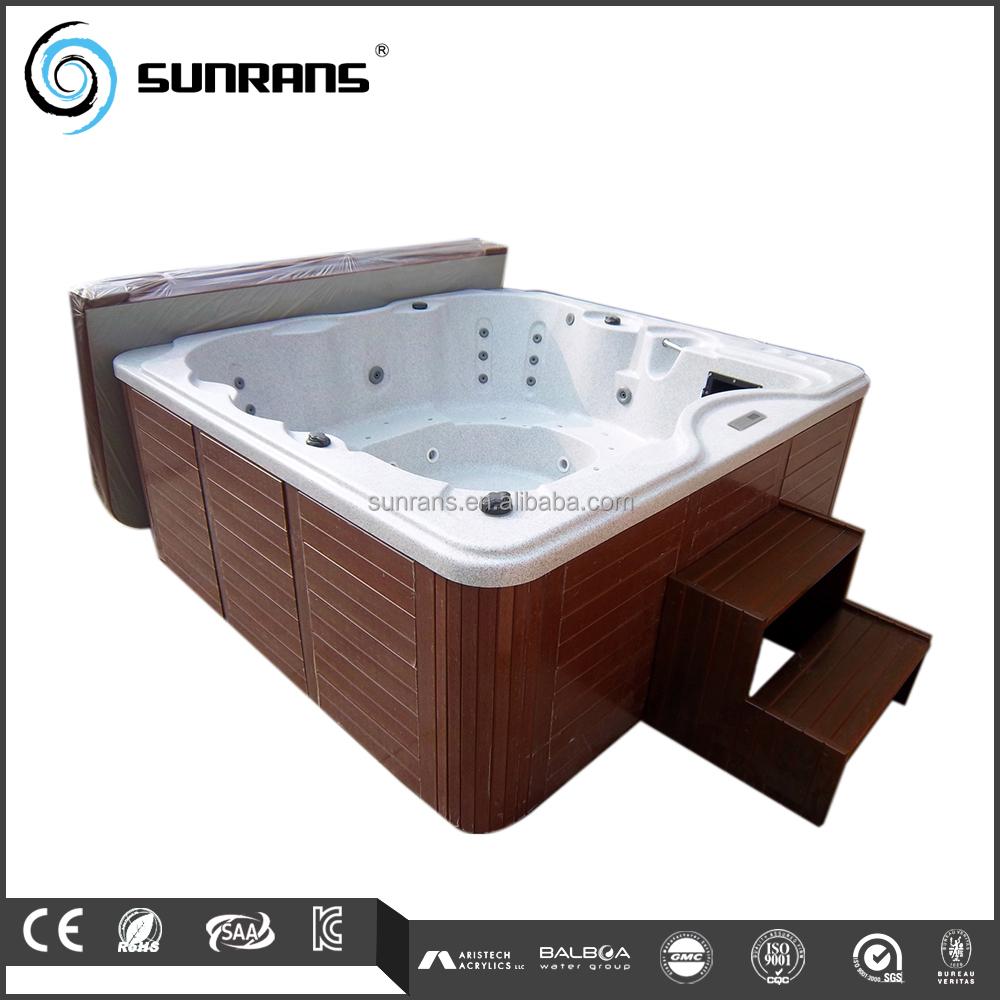 Ext rieur en bois jupe panneaux bain remous spas spa for Bain a remous exterieur