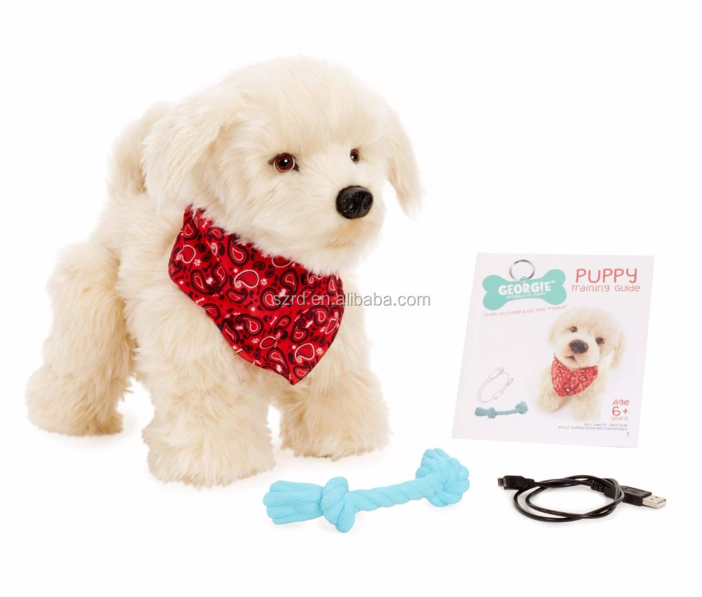 Plush Electronic Puppy/dog plush doll/plush stuffed dog toys with high quality