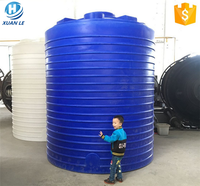 Food grade stackable rainwater tanks & rain barrels by PE raw material