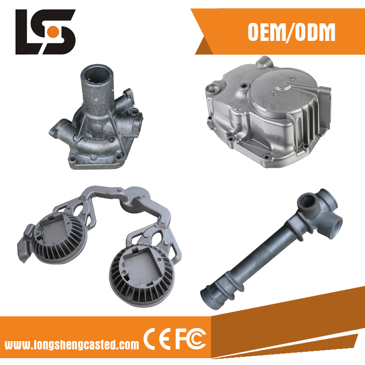 20 years professional customized CNC aluminum die casting parts with plastic painting in china factory