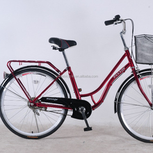 24 inch steel factory price japan style lady urban bicycle