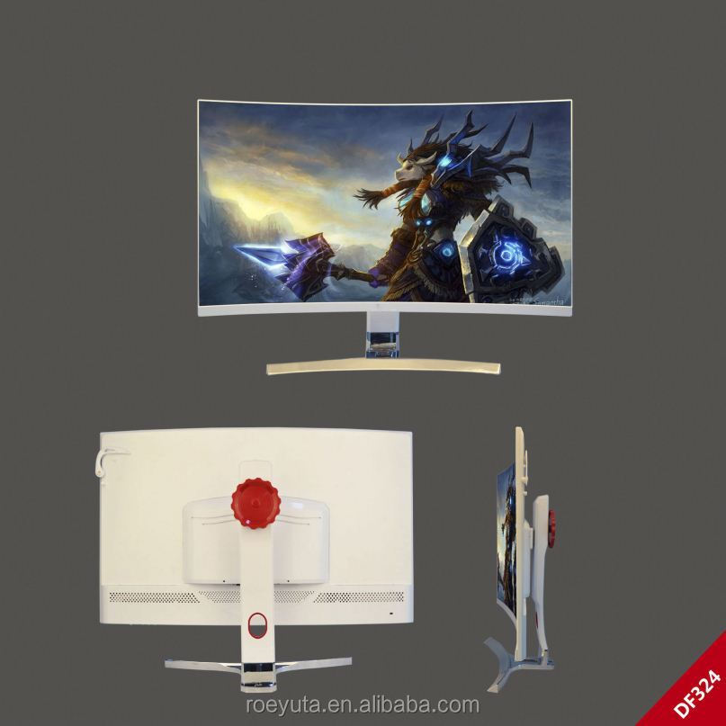 High Quality 32 Inch Curved Led Screens Panel Monitor