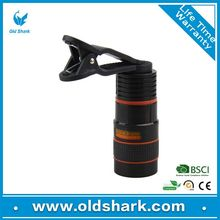 Wholesale items Mobile Phone 8x Optical Zoom Telescope Camera Lens For Apple iPhone 5,6