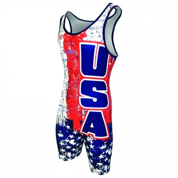 cheap wholesale custom women 4xl wrestling singlets