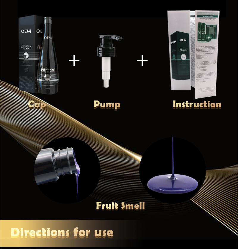 Keratin Professional Hair Protein Gerade Keratin Brasilianische Behandlung