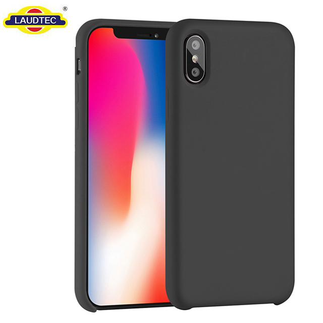For iPhone X Case Slim Liquid Silicone Design TPU <strong>Cover</strong>