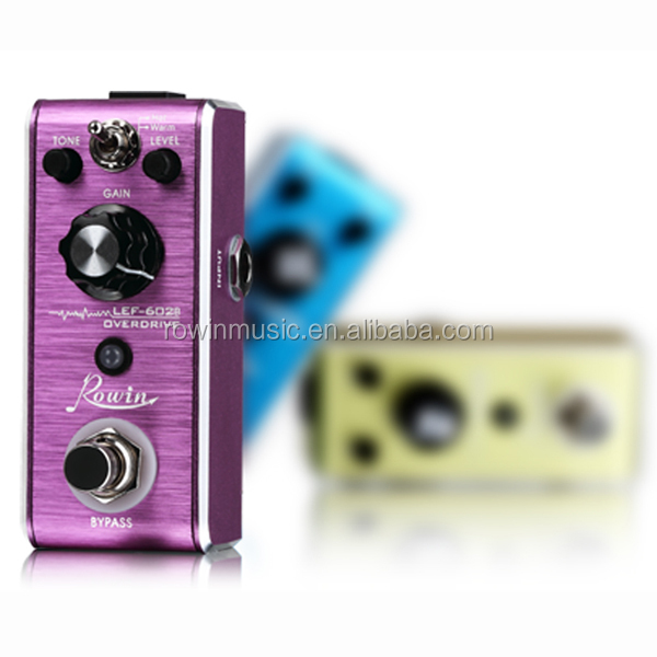 nice gift true bypass guitar mini effect pedal 200 300 600 series with mental case in stock. Black Bedroom Furniture Sets. Home Design Ideas