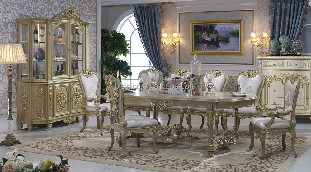 Bisini Dining Table Italian Luxury Antique European Room Furniture
