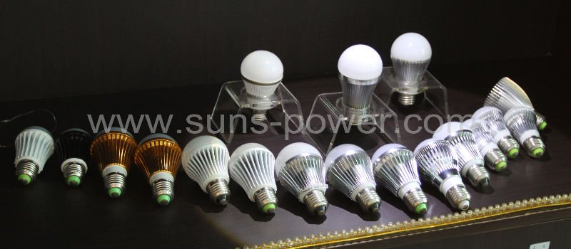 High efficiency DC 12V LED bulb light E27 3W 5W