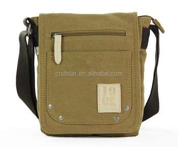 Men Canvas Satchel Bags Mens Small Shoulder Bag Kda 03 D05