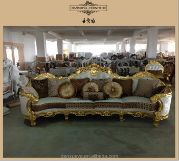 Turkish Style Furniture Fabric Luxury Sofa