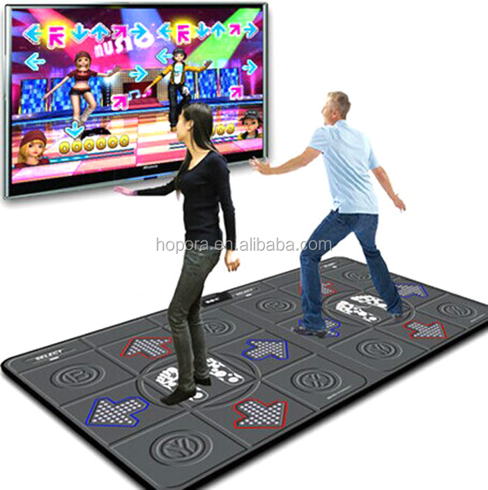 New Games Ddr Party Mix Plug 2 Player Double Dance Pad