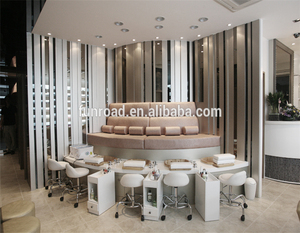 Nail Salon Furniture for Beauty Manicure and Pedicure Station