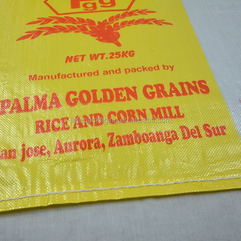 High Quality 25Kg 30kg 50kg Wheat, Flour, Rice PP Woven Packing Bags