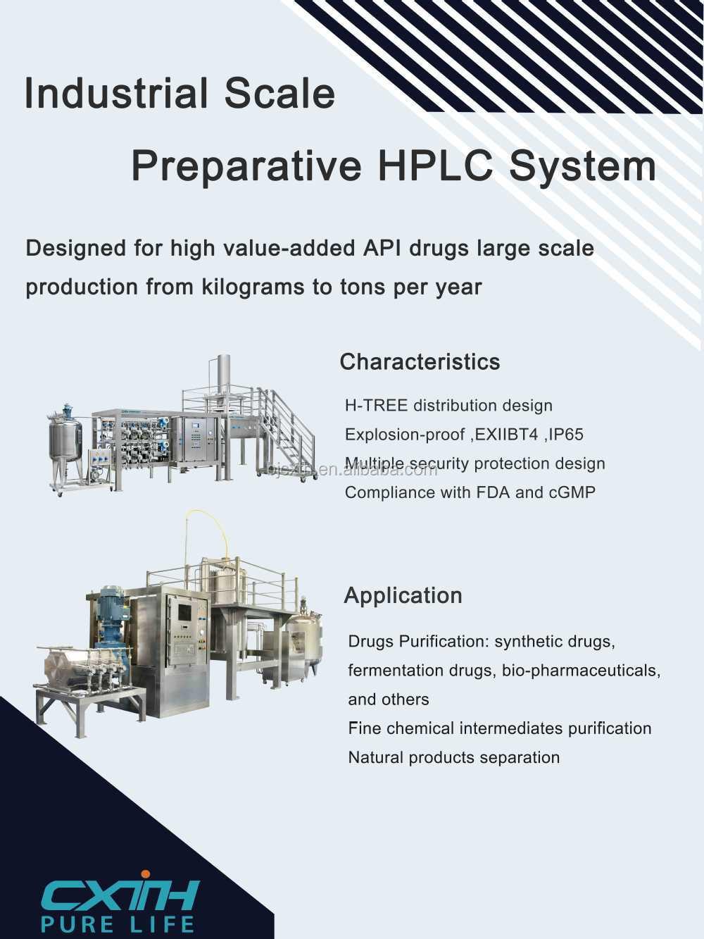 Industrial preperative high performance liquid chromatography industrial preperative high performance liquid chromatography pooptronica Images
