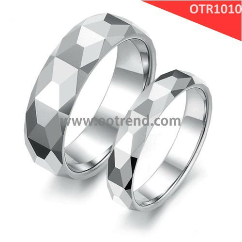 8mm width wholesale ring Mosaic patern for Christmas jewelry