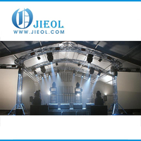Circle / Ring / Round three tower truss for LED Lights / Stage for sale