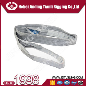 CE approved 5 : 1 safety factor lifting slings lashing straps / lifting straps nylon sling belt For Lifting Or lashing