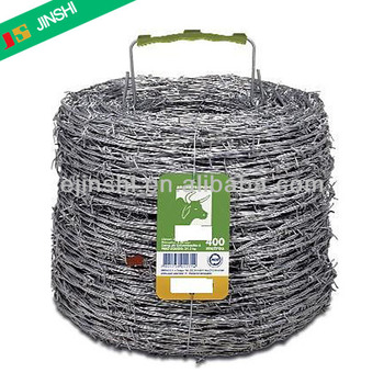 BWG16 Galvanized Revert Twist Safty Barbed Wire