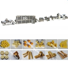 Core-filled Corn flour snack extruder machine /making machine /processing plant