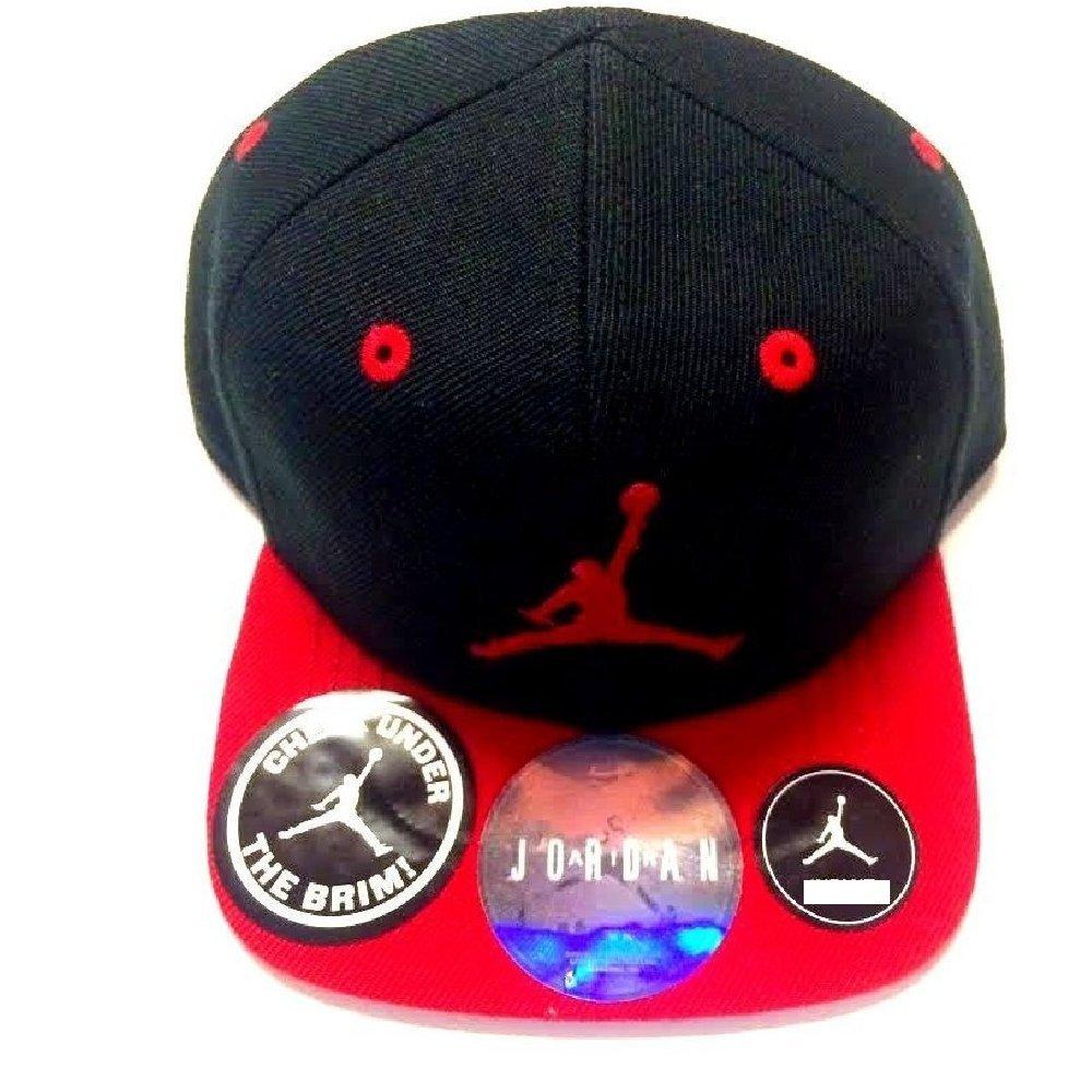52e2a98210e89f Buy Air Jordan Jumpman 23 Stretch Boys Cap 4 7 Black Gym Red ...