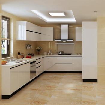 Pared Esquina Diagonal Cocina Moderna Diseños/diseño De Cocina - Buy ...