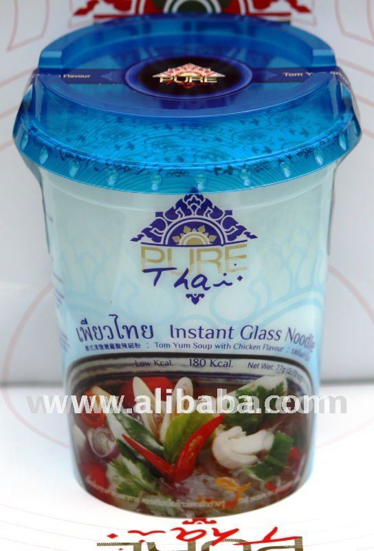 PURE Thai Instant Glass noodle Tom Yum Soup with Chicken Flavour