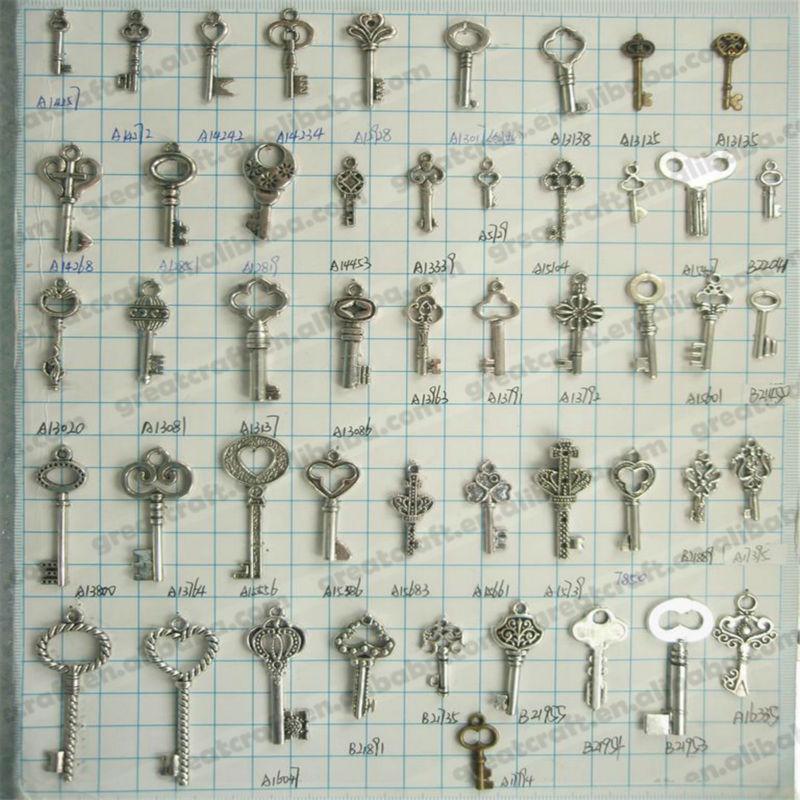 Zinc Alloy Key Parts Alloy Key Pendant Wholesale Supply00124