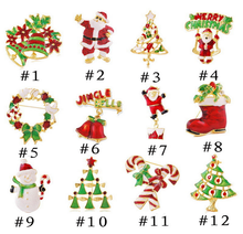 2016 wholesale Christmas lapel pins