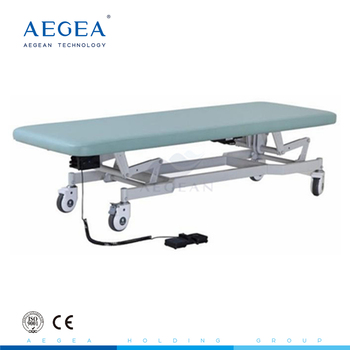 AG-ECC03 stainless steel hospital examination adjustable medical couch