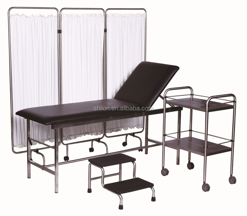 standard type hospital couch bed clinic adjustable examination couch