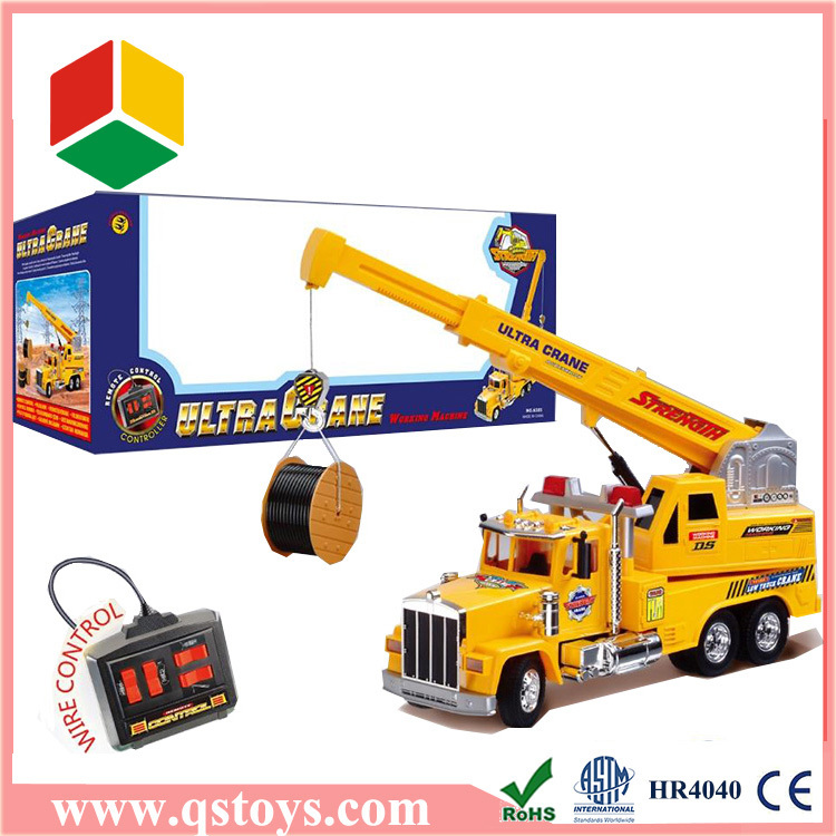2016 new construction toy rc truck with EN71