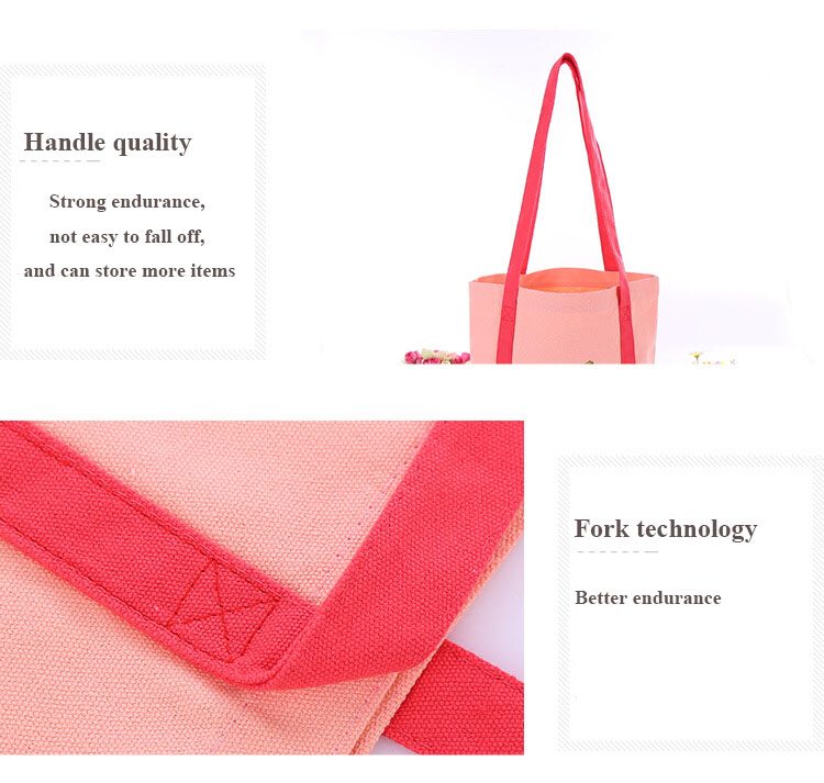 Personnalisé shopping sac à bandoulière en toile sac fourre-tout