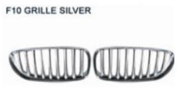 For bmw z4 07-10 front grille silver/air outlet grille/bumper grille