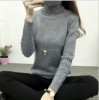 2017 new autumn O neck knitted sweater for women Femme long sleeve soft Pullovers lady sweater