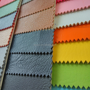 Hot sale colorful embossed artificial PU leather fabric