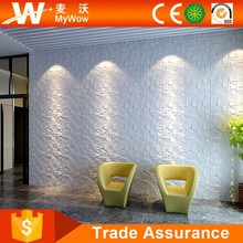Kitchen Wall Covering Panels 3D Interior Wall Paper In White Color