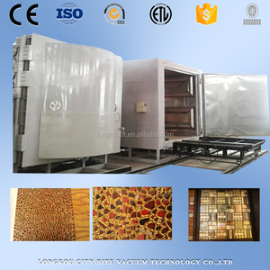 pvd pottery equipment machine/pottery gold color vacuum metalizing equipment