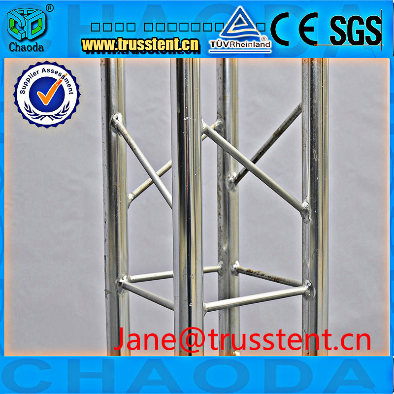 Good Quanlity Modular Exhibition System A Turss Stand Aluminum Floor Truss For LED Lighting