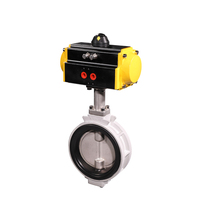 KITZ High Performance Pneumatic Auto Drain Butterfly Valve