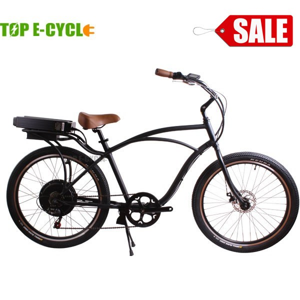 TOP/OEM factory direct supply bicycle electric used as beach cruiser bike