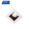 square gu10 mr16 led lighting 90*90mm deep recessed led downlight
