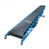 China professional manufacturer rubber belt conveyor machine price