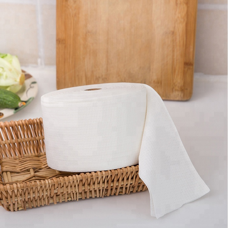 Disposable cloth non-woven fabric remover towel microfiber cleansing soft cloth