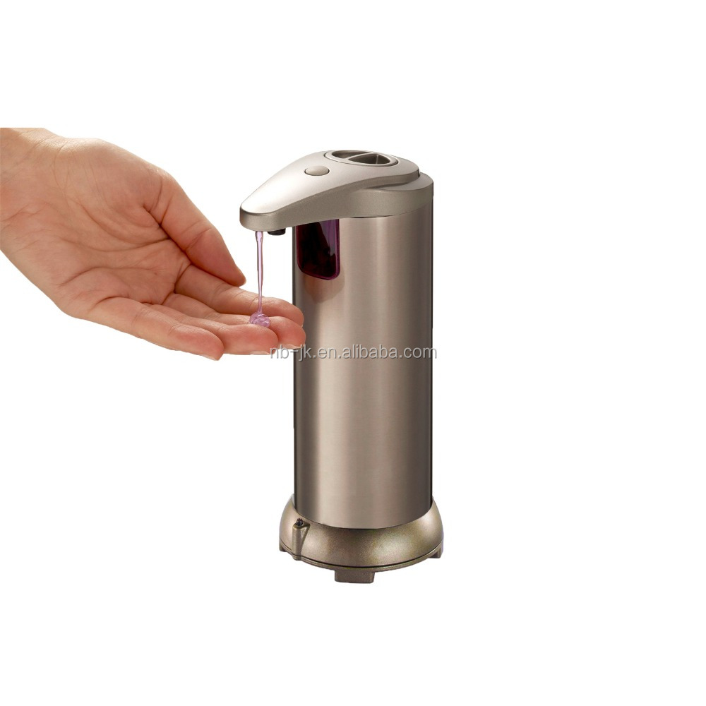 2018 update USA HOT STAINLESS STEEL Berbusa pembersih tangan sabun dispenser Touchless Otomatis Sensor Sabun Dispenser