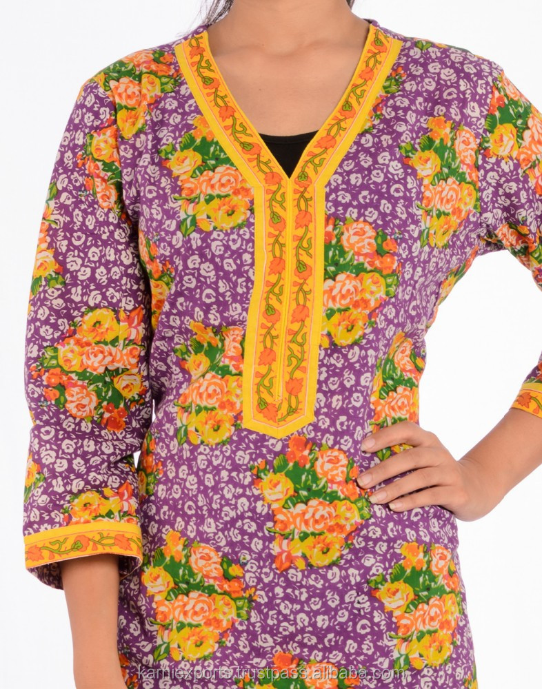 new Festival blouse for girls & womens , Cotton formal office wear blouses & tunics