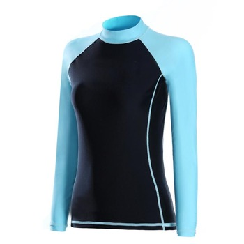 Hot Selling Neoprene Women Long Sleeve Wetsuit Top with Private Logo