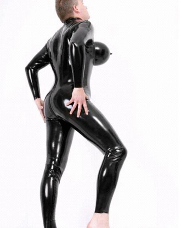 size latex suit Plus