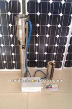 solar powered immersible pumps for agriculture with 4inch outlet